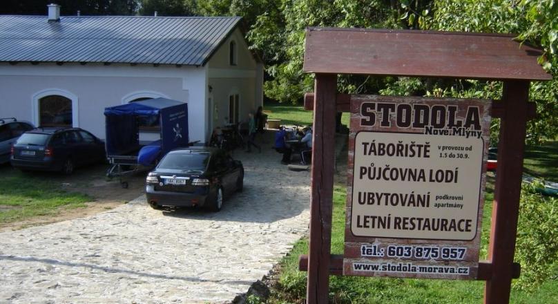kemp Stodola - Nové Mlýny